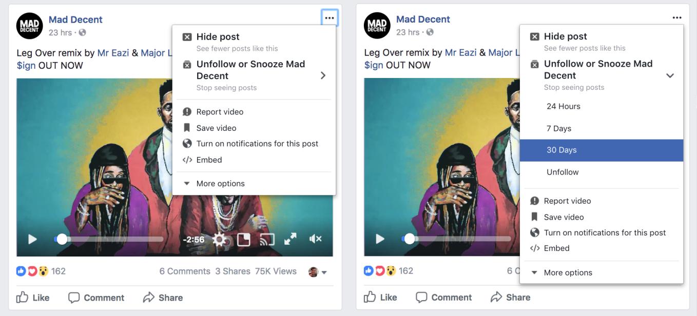 grand choix de assez bon marché une grande variété de modèles Facebook met en place un bouton « Snooze » pour masquer ...