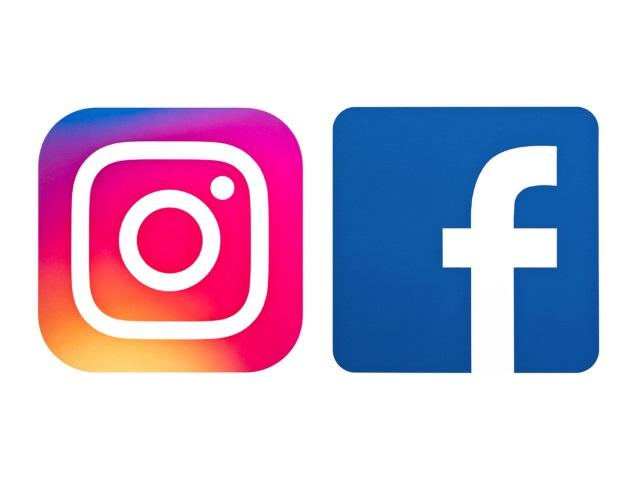 Resultado de imagen para logo facebook y instagram