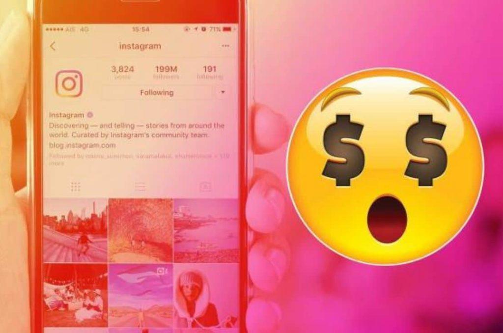 Dépenses publicitaires Instagram