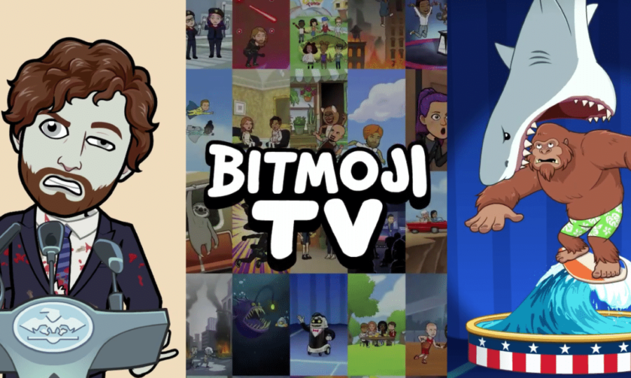 Snapchat lance Bitmoji TV