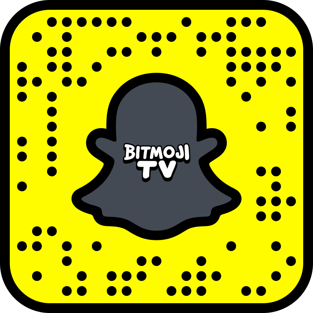 Snapcode Bitmoji Tv