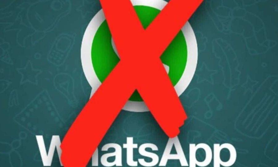 Fin de WhatsApp sur certains smartphones