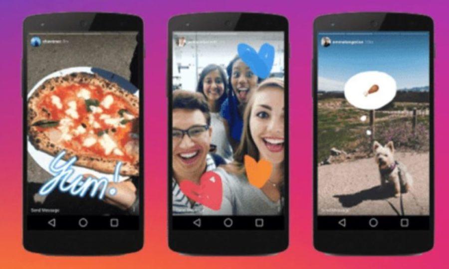 Instagram stories pour les marques