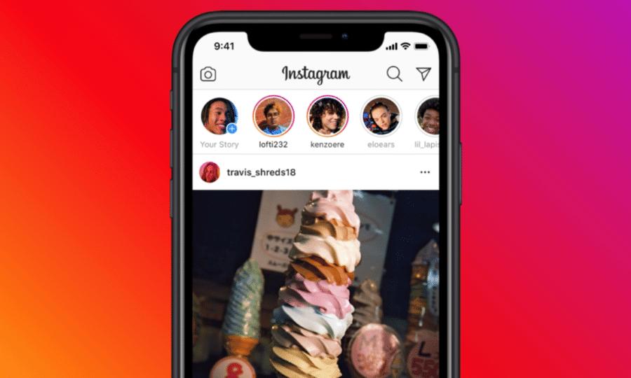 Instagram Reels nouvel onglet