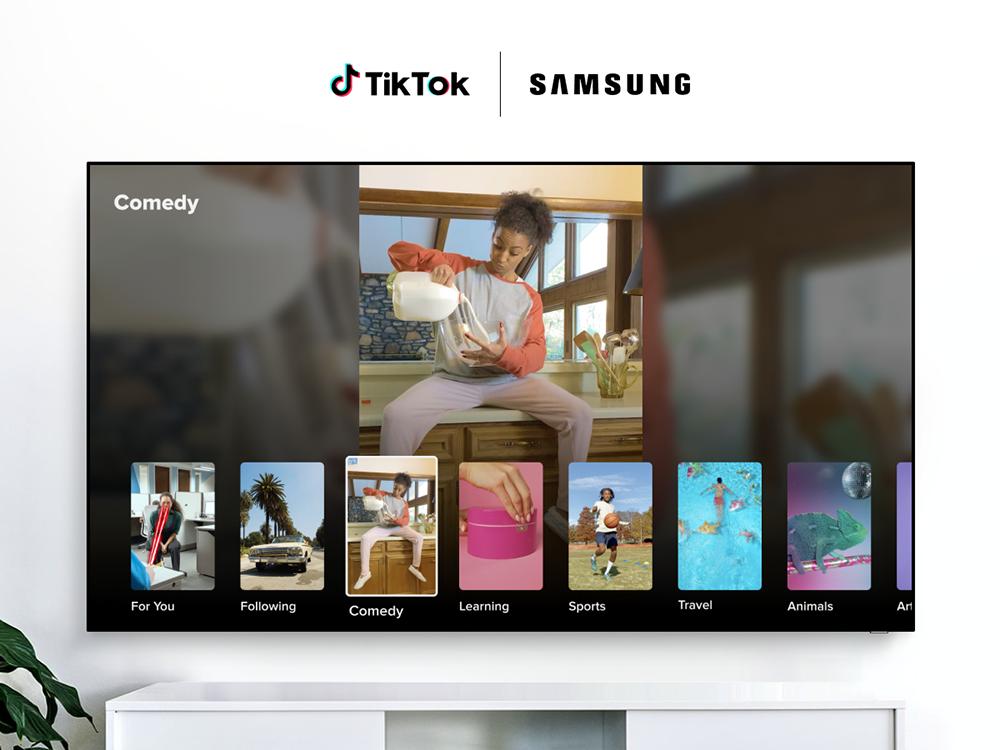 12 catégories de contenus sur l'application TikTok TV