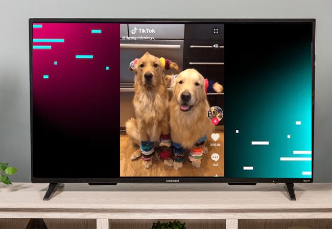 Tiktok sur smart TV
