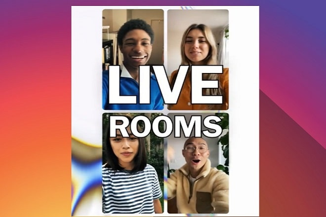 Instagram Lives Rooms